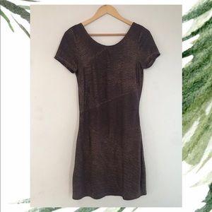 Free People ✨ Aubergine Glittery dress